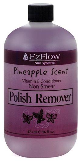 EzFlow Жидкость для снятия лака без ацетона с запахом ананаса