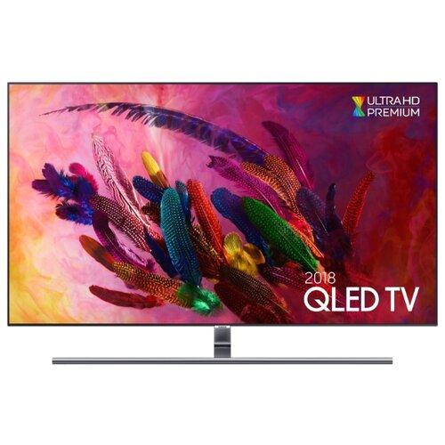 Купить Телевизор QLED Samsung QE75Q7FNA 74.5 (2018) серебристый