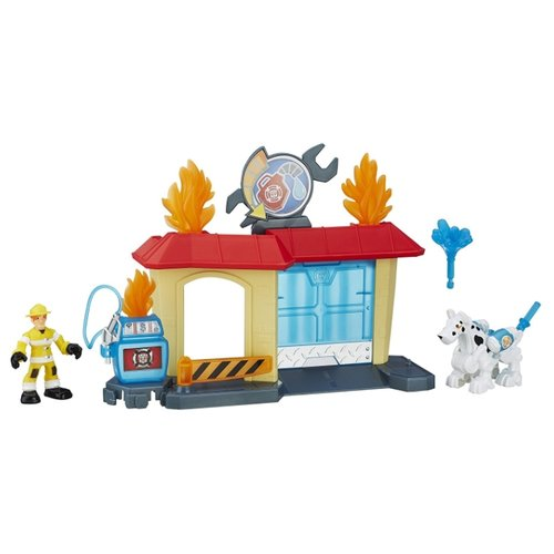 Игровой набор Hasbro Playskool Heroes B4964 xtuga professional 8 channel uhf wireless microphone system 8 handheld mics independent channel volume control for stage party