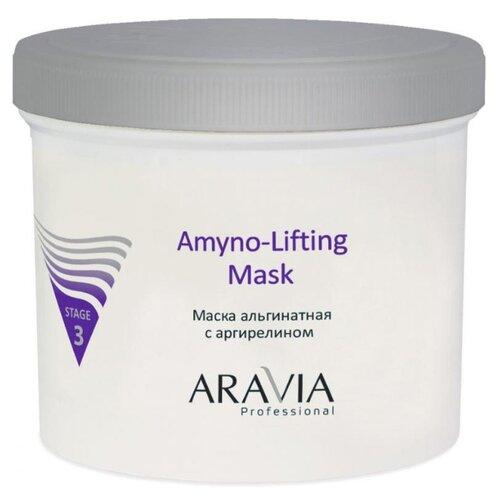 ARAVIA Professional Amyno-Lifting Маска альгинатная с аргирелином, 550 мл восстанавливающий бальзам для ног с витаминами revita balm aravia professional 100 мл