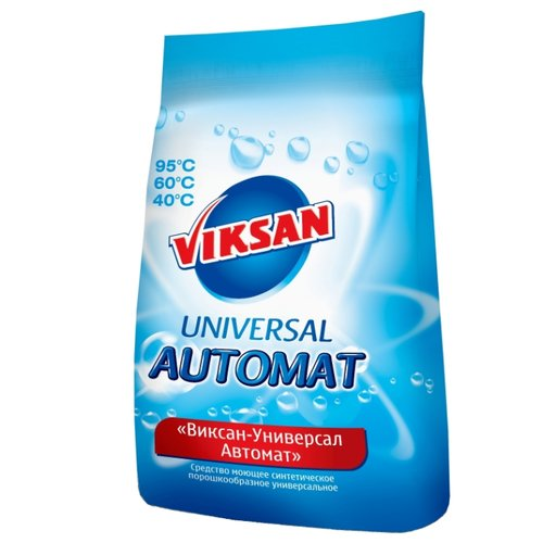 Стиральный порошок Viksan Универсал Автомат пластиковый пакет 3 кг