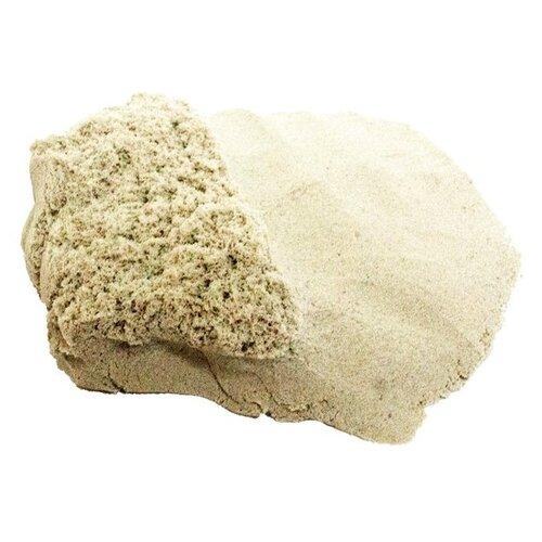 Кинетический песок LORI Домашняя песочница. Disney Принцесса (Дпд-001), морской, 1 кг, пластиковый контейнер