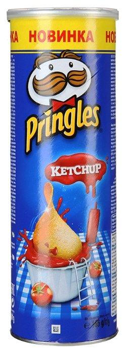 Чипсы Pringles картофельные Ketchup