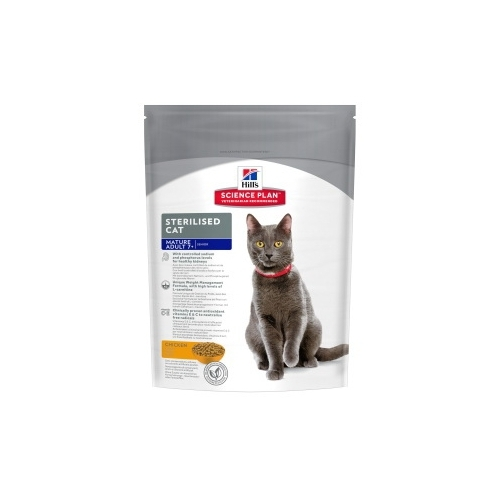 Корм для кошек Hill's (0.3 кг) Science Plan Feline Mature Adult 7+ Sterilised Chicken