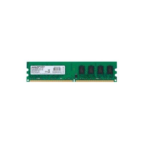 Оперативная память AMD DDR2 800 (PC 6400) DIMM 240 pin, 2 ГБ 1 шт. 1.8 В, CL 6, R322G805U2S-UG
