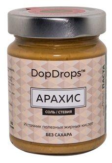 DopDrops Паста ореховая Арахис (морская соль, стевия) стекло