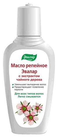 Эвалар Масло репейное с экстрактом чайного дерева