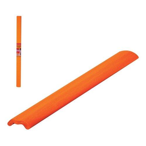 Купить Цветная бумага крепированная флуоресцентная в рулоне BRAUBERG, 50х200 см, 1 л., Цветная бумага и картон