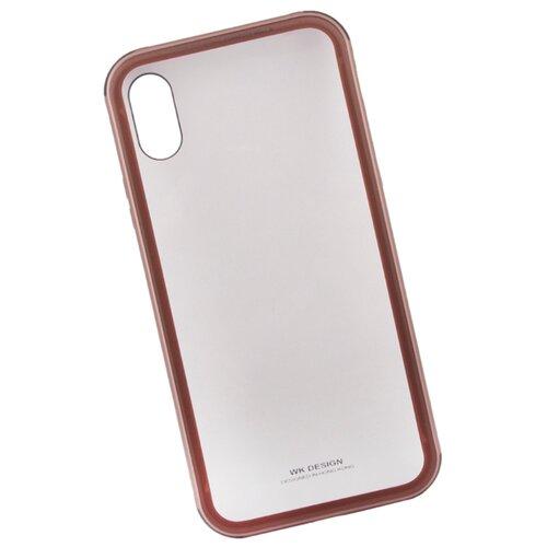 Купить Чехол WK Kingkong Series Glass Case для Apple iPhone X золотой