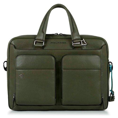 Сумка PIQUADRO CA2849B3 зеленый кожаные сумки piquadro ca2849b3 ve