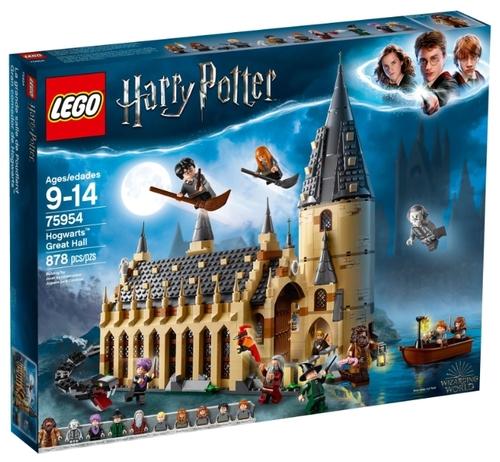 Lego harry potter большой зал хогвартса 75954 купить