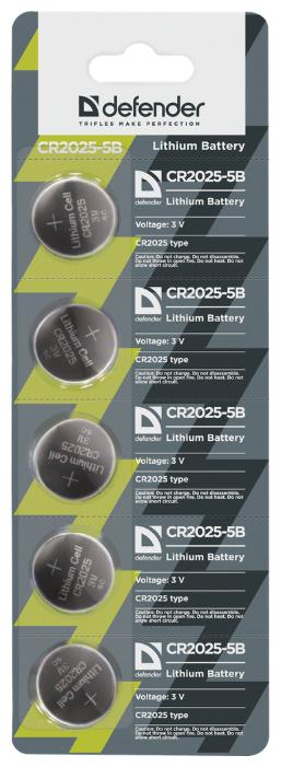 Батарейка Defender CR2025