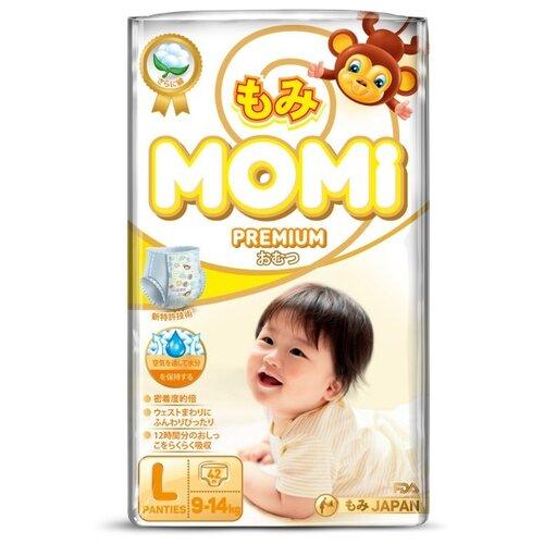 Momi трусики Premium L (9-14 кг) 42 шт.Подгузники<br>