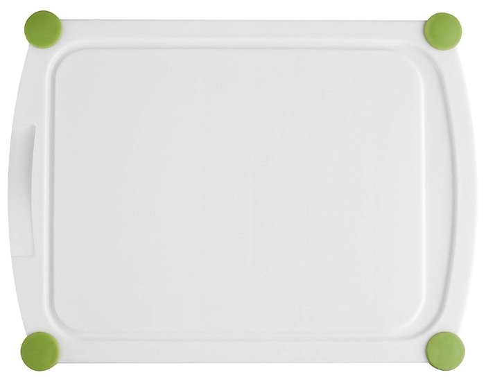 Разделочная доска EMSA Perfect cut 30х22 см белый/зеленый