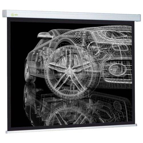 Рулонный матовый белый экран cactus Wallscreen CS-PSW-213x213