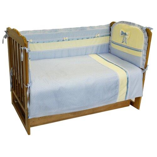 Sonia Kids комплект Жемчужные сны (6 предметов) голубойПостельное белье и комплекты<br>
