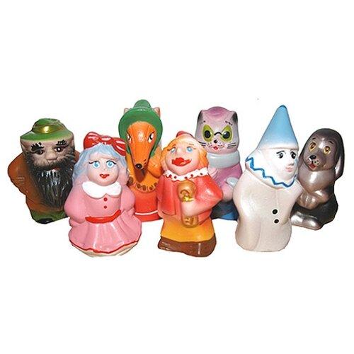 Купить Набор для ванной Кудесники Золотой ключик (СИ-383) разноцветный, Игрушки для ванной