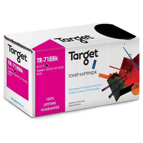 Фото - Картридж Target TR-718Bk, совместимый картридж target tr ce321a совместимый