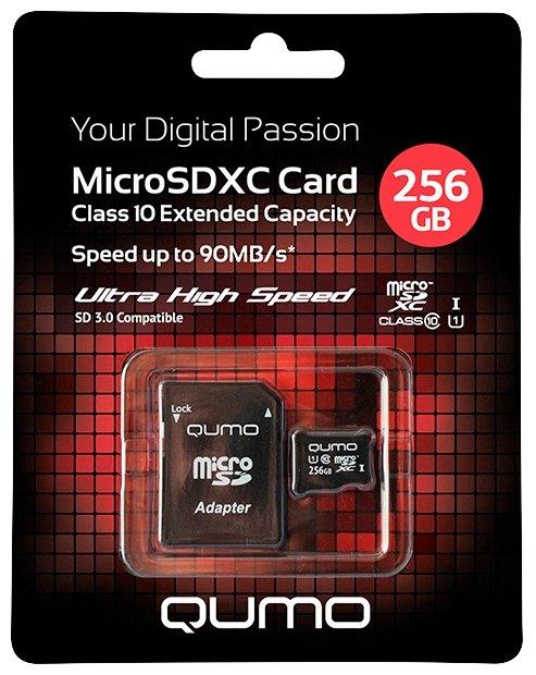 карта памяти SanDisk MicroSD 32Gb UHS-I Класс 10 + адаптер SD