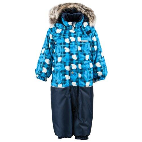 Купить Комбинезон KERRY FUN K18409 размер 86, 6333 бежевый/синий/бирюзовый, Теплые комбинезоны