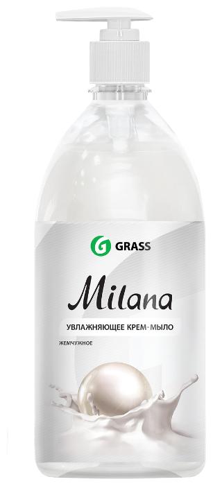 Крем-мыло жидкое Grass Milana жемчужное