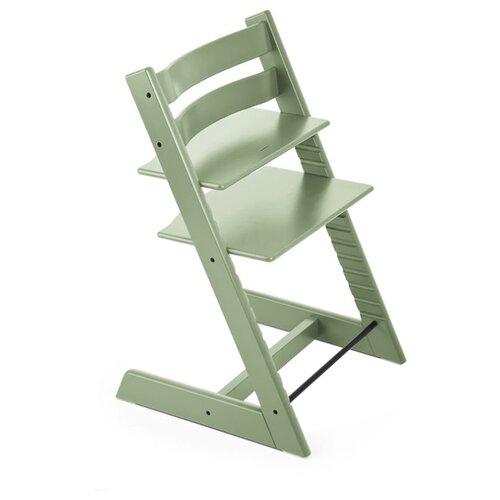Купить Растущий стульчик Stokke Tripp Trapp из бука moss green, Стульчики для кормления