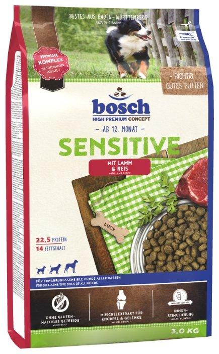 Корм для собак Bosch Sensitive ягненок