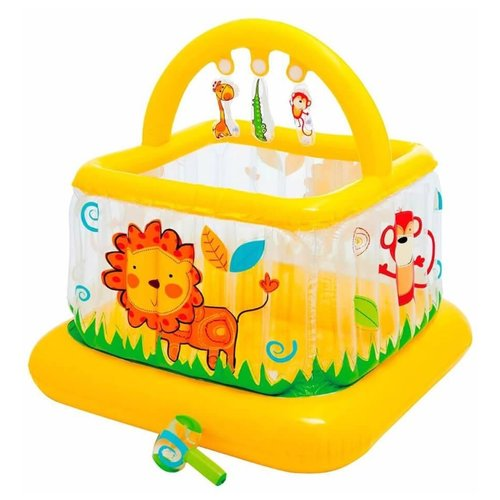 Детский бассейн Intex Lil Baby Gym желтый/оранжевыйБассейны<br>