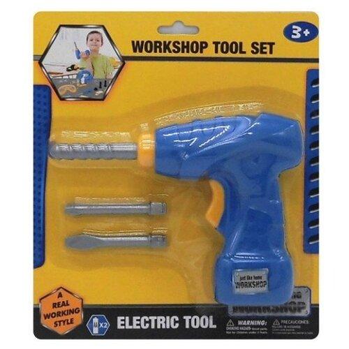 Купить Наша игрушка Дрель с насадками 42460 (200210642), Детские наборы инструментов