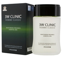 3W Clinic Тоник увлажняющий Homme Classic Moisturizing Freshness Essential Skin