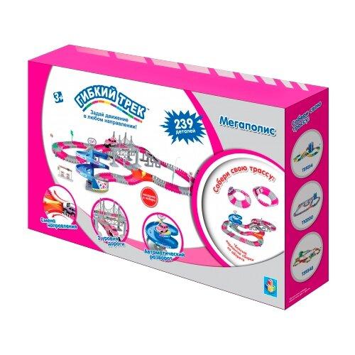 Трек 1 TOY Мегаполис Т10197 (239 деталей) трек 1 toy мегаполис т10200