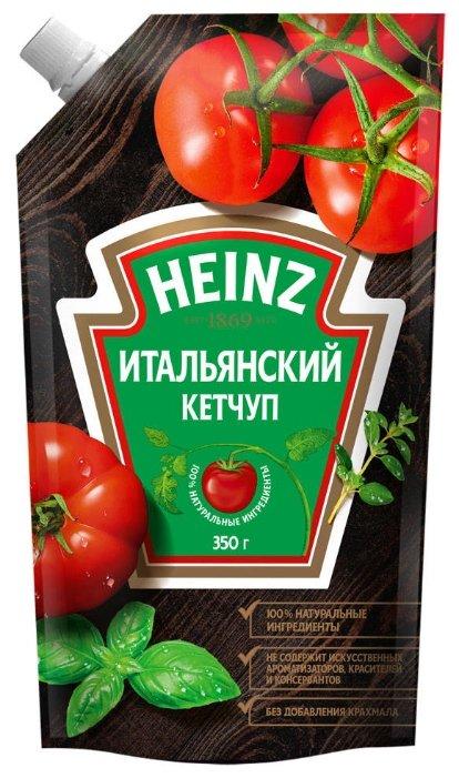 Кетчуп Heinz Итальянский с кайенским перцем, дой-пак