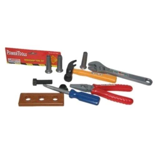 Купить Наша игрушка Набор инструментов, 10 предметов 42463 (100263048), Детские наборы инструментов