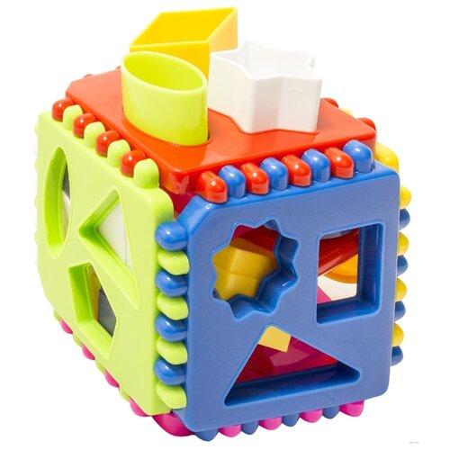 Купить Сортер Стеллар Логический куб, Сортеры