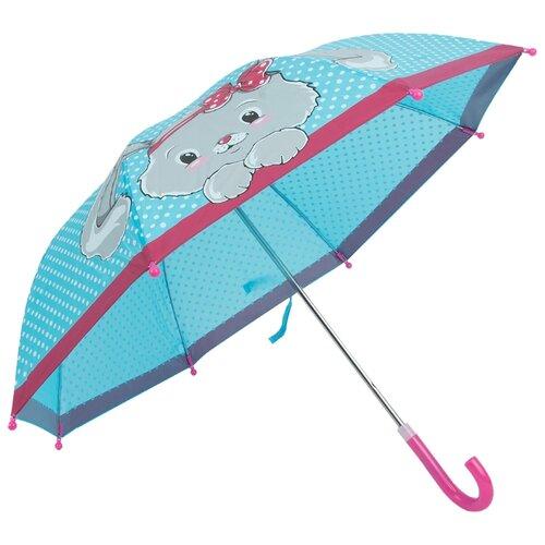 Фото - Зонт Mary Poppins голубой/розовый сумка бочонок mary poppins зайка 530035 пластик розовый голубой