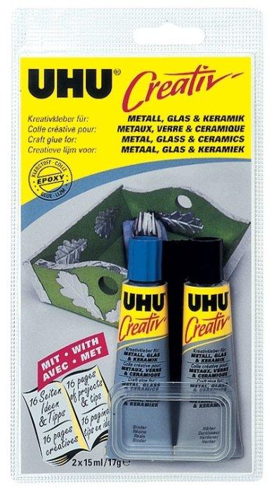 Клей эпоксидный UHU Creativ 47285 2 шт.