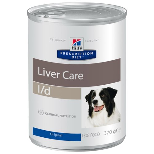 Влажный корм для собак Hill's Prescription Diet при заболеваниях печени 12шт. х 370г