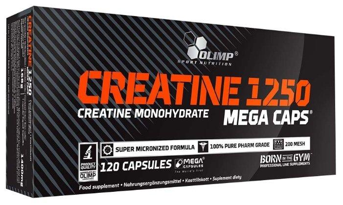 Креатин Olimp Creatine 1250 Mega Caps (120 шт.)