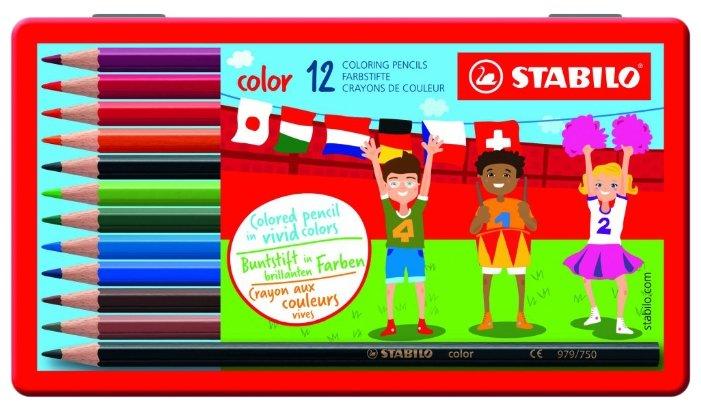 STABILO Цветные карандаши color 12 цветов (1812-77)