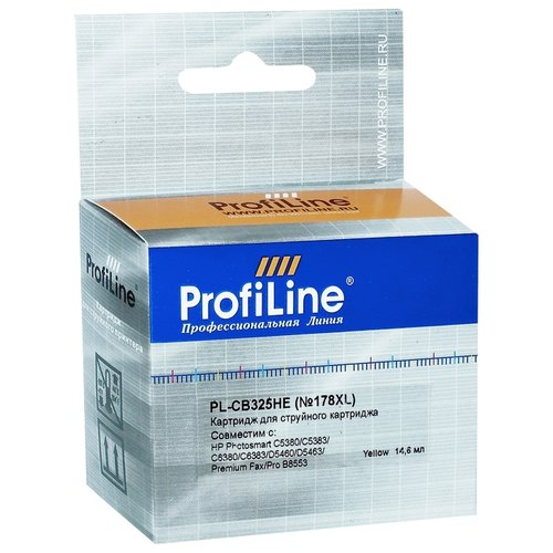 Фото - Картридж ProfiLine PL-CB325HE-Y, совместимый картридж profiline pl 50f2h00