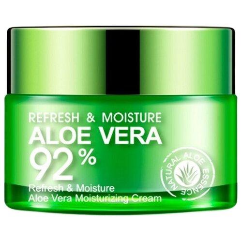 BioAqua Aloe Vera 92% Освежающий и увлажняющий крем-гель для лица и шеи с экстрактом алоэ вера, 50 г недорого