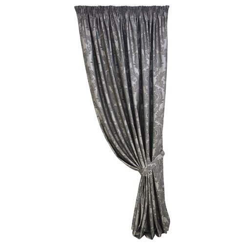 Комплект Kauffort Vera на тесьме 270 см серый/темно-серый