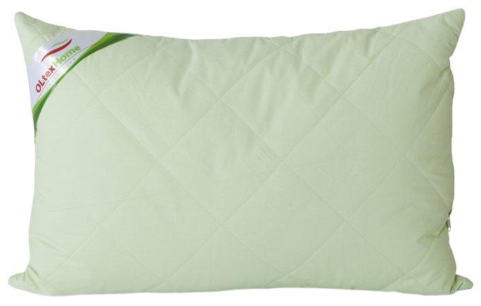 Подушка декоративная, зеленая, 45x45 см