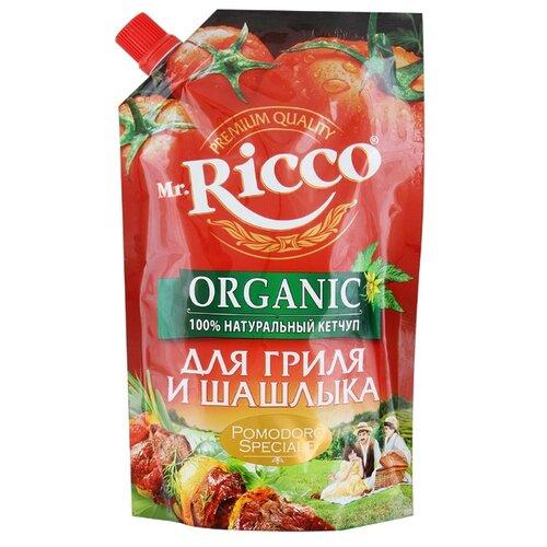 Кетчуп Mr.Ricco Для гриля и шашлыка organic, дой-пак 350 г фото