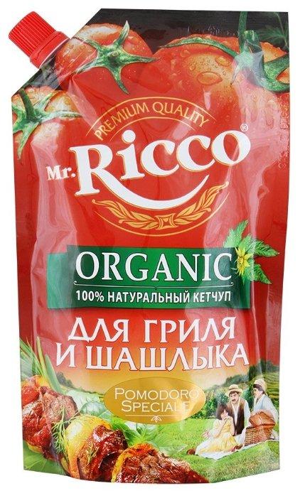 Кетчуп Mr.Ricco Для гриля и шашлыка organic, дой-пак