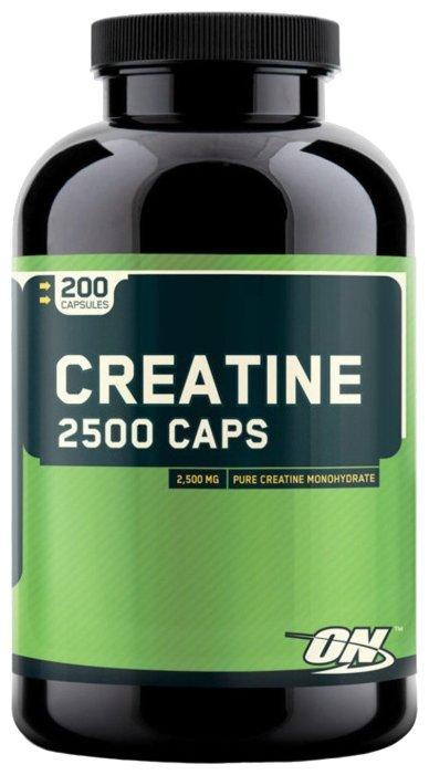Креатин Optimum Nutrition Creatine 2500 Caps (200 шт)