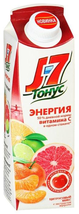Нектар J7 Тонус Энергия Смесь цитрусовых-Ацерола, без сахара