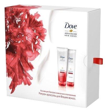 Набор Dove Advanced hair series Коллекция Прогрессивное восстановление