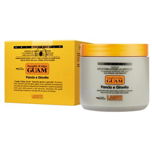 Маска Guam Fanghi D'alga антицеллюлитная для живота и талии 500 г guam для живота и талии