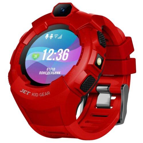 Часы Jet Kid Gear красный/черный jet kid gear red black